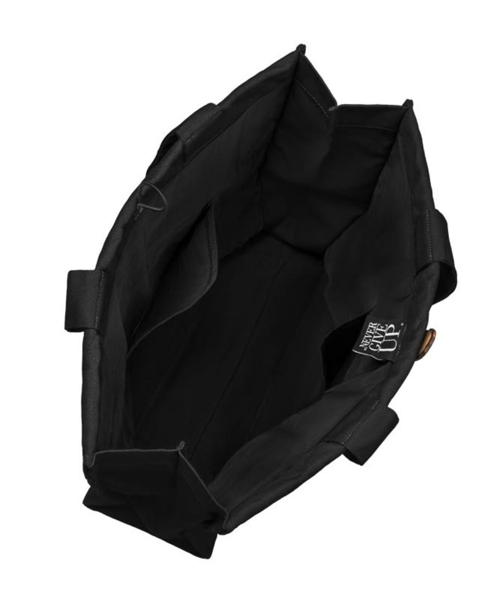 Healthy Plan by Ann Pikowana torba na zakupy czarna