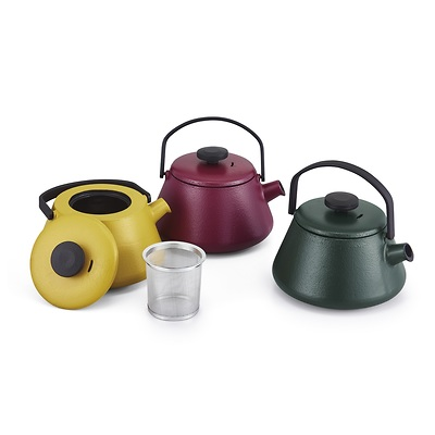 Brabantia - Czajnik do zaparzania herbaty T-Time Mustard Yellow