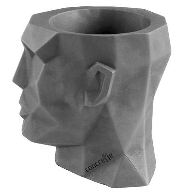 Concrette - Flowerpot Apollo XXl, doniczka/osłonka betonowa naturalny beton