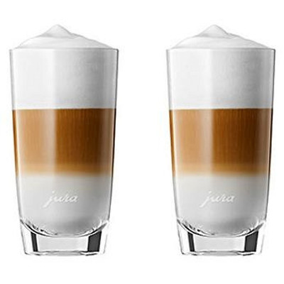 Jura - Zestaw 2 szklanek do latte macchiato (linia F)