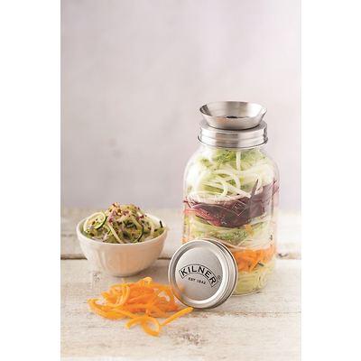 Kilner -Słoik z tarką- spirala do warzyw