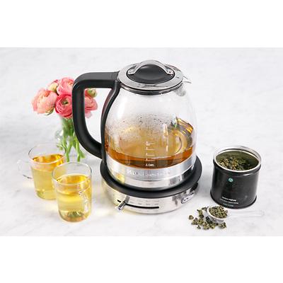 KitchenAid - Czajnik szklany ARTISAN 1,5 L z filtrem do herbaty