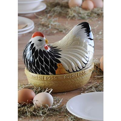 Mason Cash - Hen Nests Pojemnik ceramiczny do przechowywania jajek