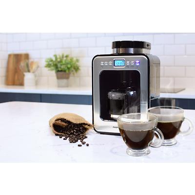 Morphy Richards - Evoke Ekspres przelewowy z wbudowanym młynkiem do kawy