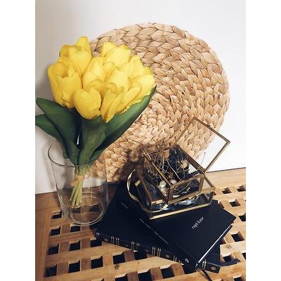 PremiumFlowers - Bukiet żółtych tulipanów