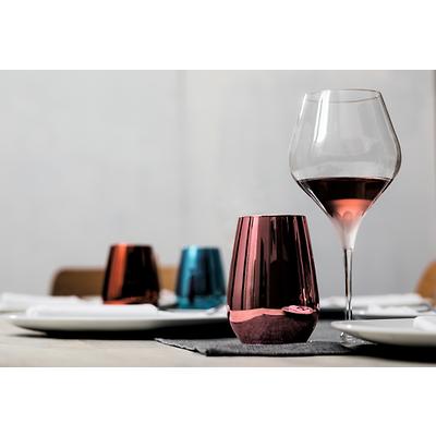 Schott Zwiesel - Vina Shine Komplet 6 szklanek w kolorze różowym