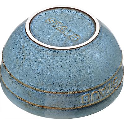 Staub - Zestaw 4 ceramicznych misek, antyczny turkusowy