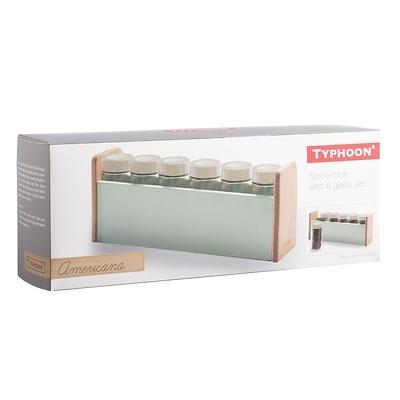 Typhoon - Vintage Americana Stojak na przyprawy z pojemnikami