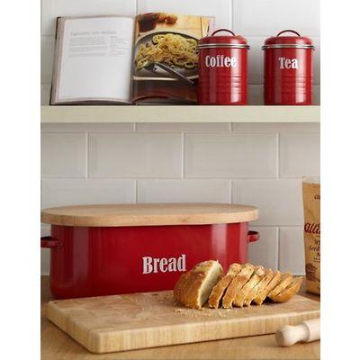 Typhoon - Vintage Kitchen Pojemnik na pieczywo czerwony