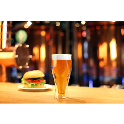 Vialli Design - Amo Szklanka do piwa z podwójną ścianką