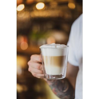 Vialli Design - Diva Komplet 2 szklanek do latte z podwójną ścianką