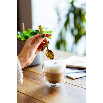 Vialli Design - Komplet 2 szklanek do espresso z podwójną ścianką