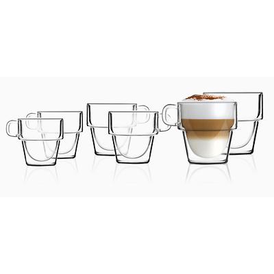 Vialli Design - Senso Komplet 6 szklanek z podwójną ścianką w 3 rozmiarach