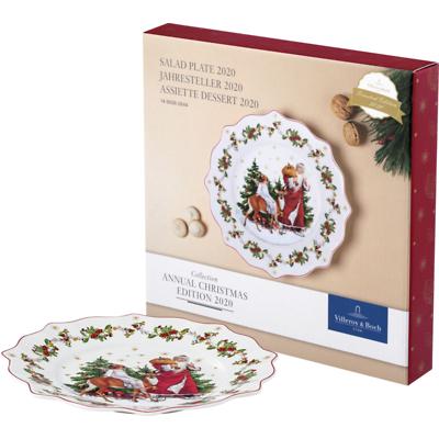 Villeroy & Boch - Annual Christmas Edition 2020 Talerz sałatkowy