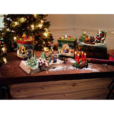 Villeroy & Boch - Christmas Toys Duża Kula śnieżna św. Mikołaj i jeleń