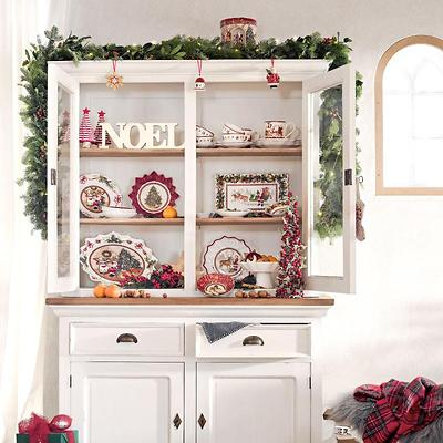 Villeroy & Boch - Christmas Toys Memory Lampion z pozytywką Święty Mikołaj