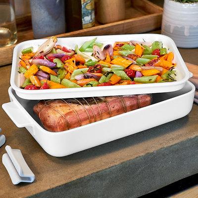 Villeroy & Boch - Clever Cooking Prostokątne naczynie do zapiekania z pokrywą