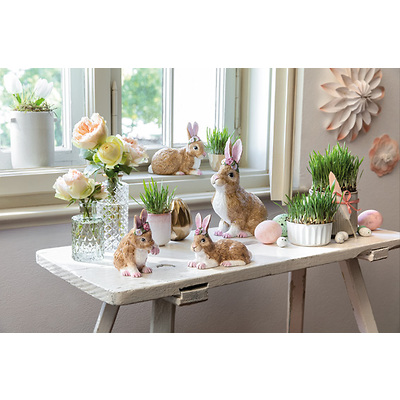 Villeroy & Boch - Easter Bunnies 2020 Figurka porcelanowa zajączek siedzący duży