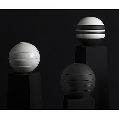 Villeroy & Boch - Iconic La Boule Kula biało- czarna