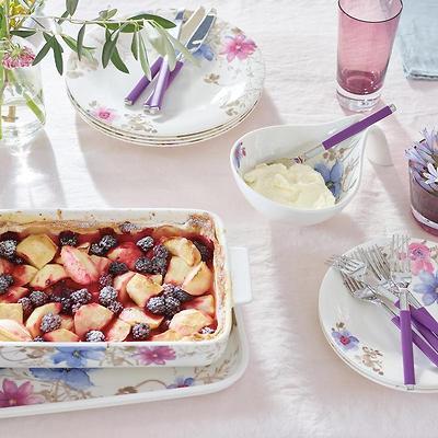 Villeroy & Boch - Mariefleur Gris Baking Dishes Prostokątny półmisek/pokrywka do zapiekania