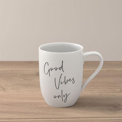 "Villeroy & Boch - Statement Kubek ""Good Vibes only"""