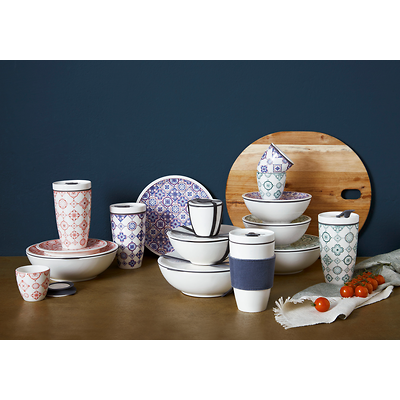 Villeroy & Boch - To Go Indigo Porcelanowy kubek do kawy lub herbaty na wynos