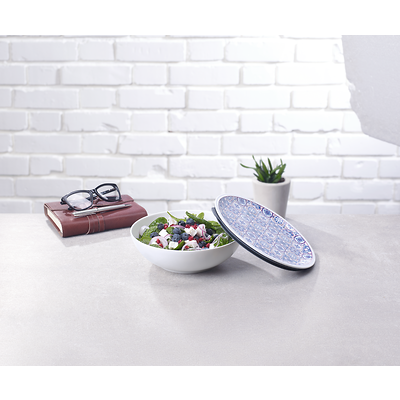 Villeroy & Boch - To Go Indigo Porcelanowy pojemnik na lunch