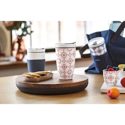 Villeroy & Boch - To Go Rose Porcelanowy kubek do kawy lub herbaty na wynos