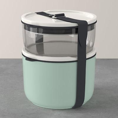 Villeroy & Boch - To Go & To Stay Zestaw pojemników na lunch, 2-częściowy, szklany