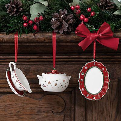 Villeroy & Boch - Toy's Delight Decoration zestaw ozdób w kształcie naczyń do serwowania