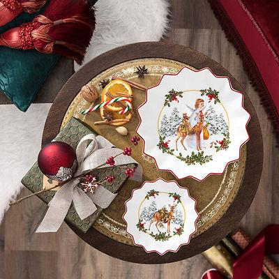 Villeroy & Boch - Toy's Fantasy mała miska sarenka z prezentami