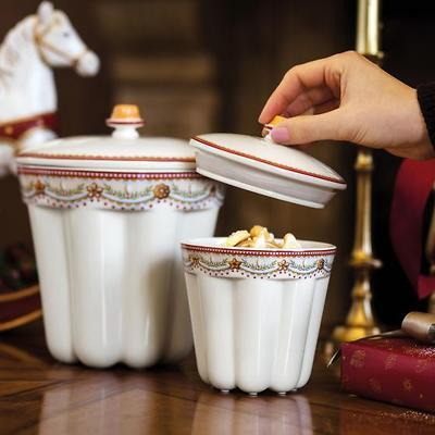 Villeroy & Boch - Winter Bakery Delight Pojemnik na ciastka Babka mały