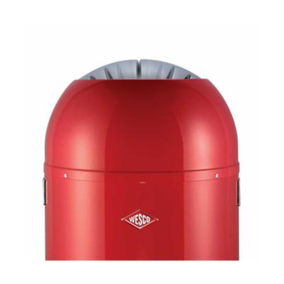 Wesco - Single Master kosz na śmieci, czerwony