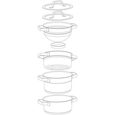 WMF - Compact Cuisine komplet garnków