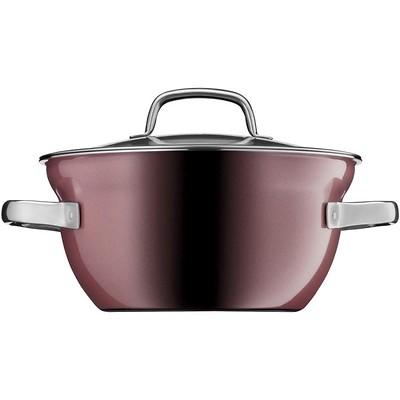 WMF - Garnek/Miska do gotowania z pokrywką Fusiontec Mineral, różowy kwarc