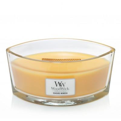 WoodWick - Świeca Elipsa Seaside Mimosa