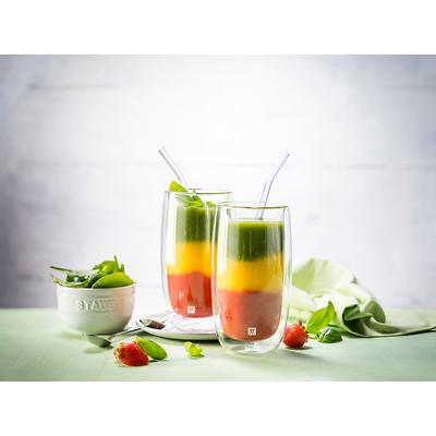 Zwilling - Sorrento Zestaw dwóch szklanek do latte macchiato
