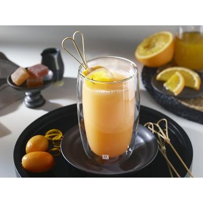 Zwilling - Sorrento Zestaw dwóch wysokich szklanek do napojów ciepłych i zimnych