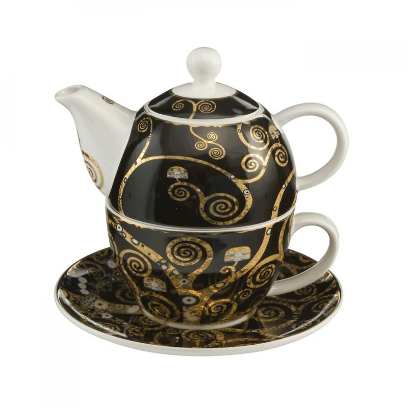 """Goebel - Gustav Klimt ,,Drzewo życia"""" zestaw herbaty dla jednego"""