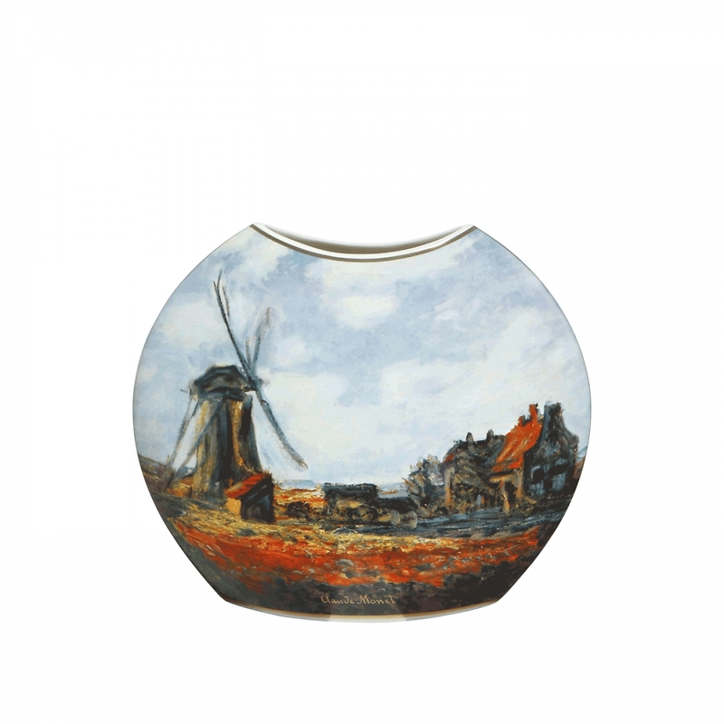 "Goebel - Oscar Cloude Monet ,,Pole Tulipanów"" wazon"