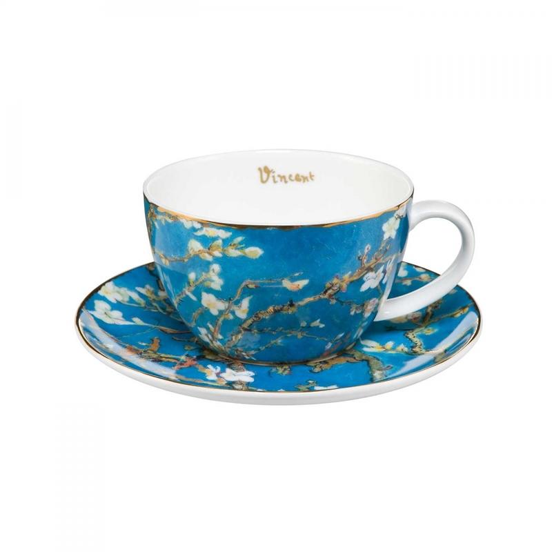 """Goebel - Vincent Willem van Gogh ,,Drzewo Migdałowe"""" filiżanka do herbaty"""