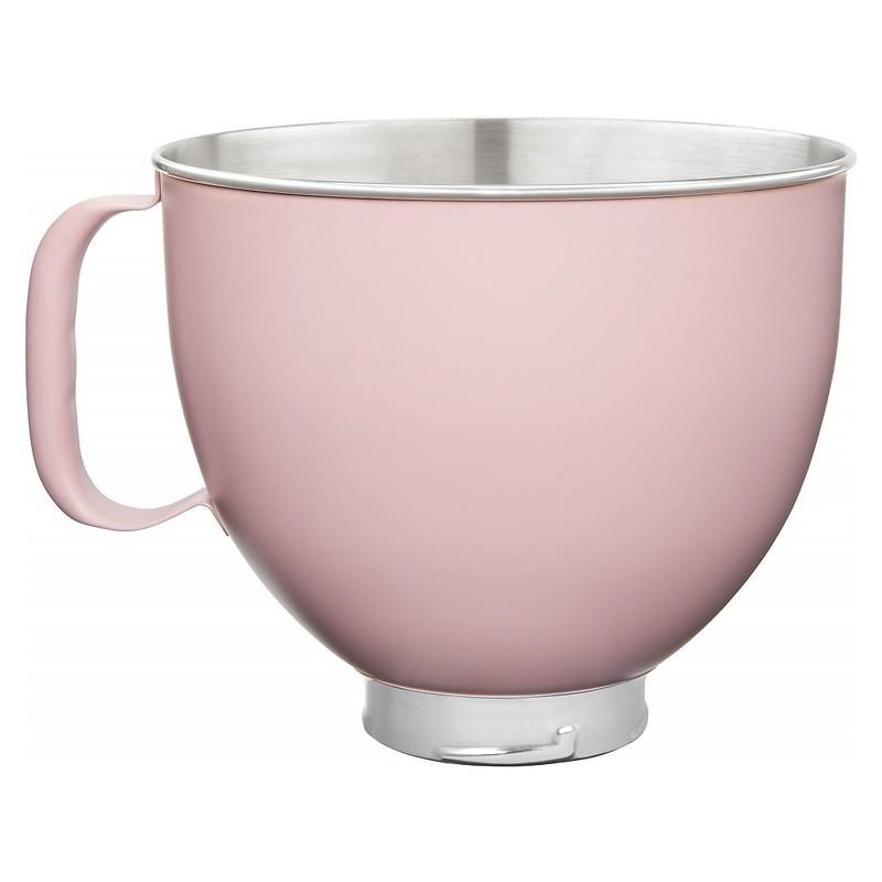 KitchenAid - Ozdobna dzieża stalowa Różowy mat