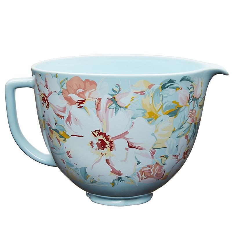 KitchenAid - Unikalna dzieża ceramiczna White Gardenia