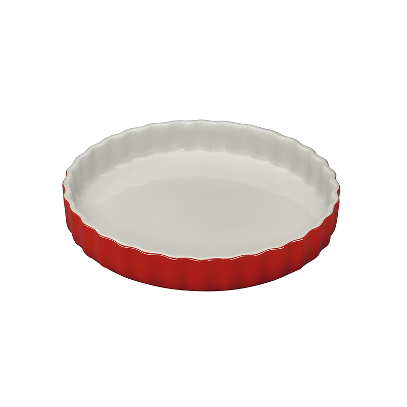 Küchenprofi - Provence  ceramiczna forma na tartę, czerwona