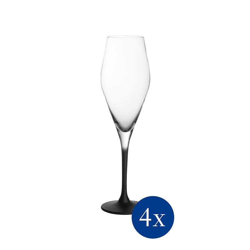 Manufacture Rock - Zestaw kieliszków do szampana, 4 sztuki