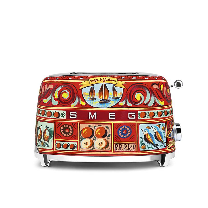 "Smeg - ""Sicily is my love"" Toster na 2 kromki by Dolce&Gabbana"