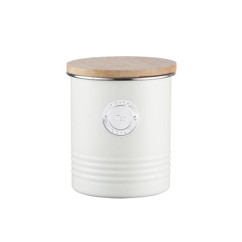 Typhoon - Living Pojemnik na herbatę kremowy