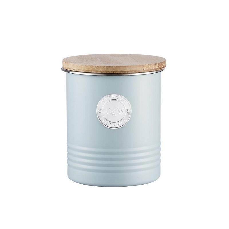 Typhoon - Living Pojemnik na kawę błękitny
