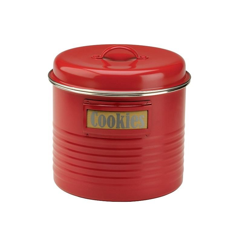 Typhoon - Vintage Kitchen Pojemnik do przechowywania żywności czerwony