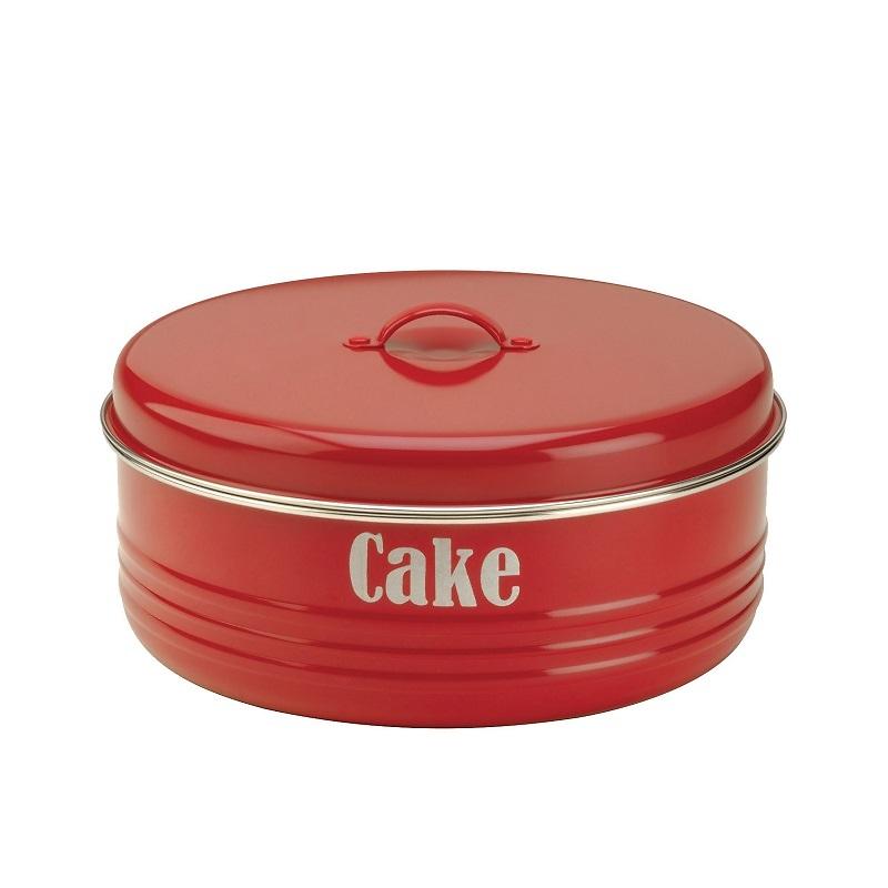 Typhoon - Vintage Kitchen Pojemnik na ciasto czerwony